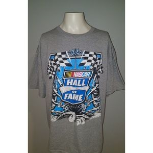Nascar Hall Of Fame Charlotte Gray Graphic T-Shirt
